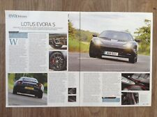 Lotus Evora S 2011 - Contemporary Road Test Article (Evo Magazine)