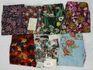 LuLaRoe Women's Leggings Asst Pattern/Color One Size O/S Wholesale Lot (7 Items)