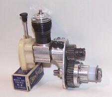 Custom Made Cox ,049 Nitro Gear Reduction Control Line Model Airplane Engine
