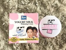 4 x YOKO Facial Whitening Cream Yogurt Extract Removal of Dead Cells & Wrinkles