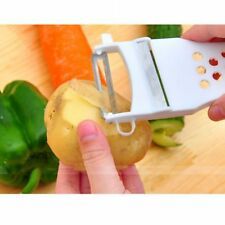 Home Vegetable Fruit Multifunctional Cutter Slicer Shredder Carving Peeler 2Pc