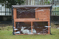 BUNNY BUSINESS RABBIT HUTCH GUINEA PIG HUTCHES RUN RUNS LARGE 2 TIER DOUBLE DECK