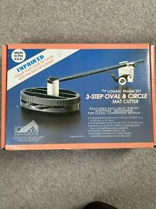 LOGAN CUTTER MODEL 201. THREE STEP OVAL AND CIRCLE CUTTER. BOXED. USED ONCE. AS