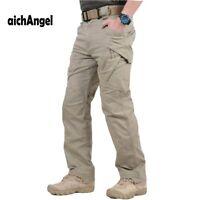 IX9 Militar Tactical Cargo Pants Men Combat SWAT Army Military Pants Sweatpants
