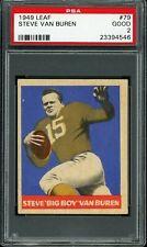 1949 Leaf #79 Steve Van Buren PSA 2 Good Philadelphia Eagles