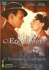 Brief Encounter (1945) - Celia Johnson, Trevor Howard - DVD NEW