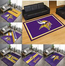 Minnesota Vikings Area Rug Fluffy Floor Mat Living Room Modern Anti-Slip Carpet
