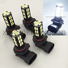 Combo 9006-HB4 9005-HB3 Samsung LED 30 SMD High/Low Beam White #a3 Light Bulbs