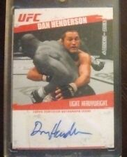 "Dan ""HENDO/H-BOMB"" Henderson 2009 UFC Topps RC Rookie Auto #FA-DH CHAMP Legend"