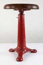 Industrie Tabouret Singer atelier de couture vintage art deco stool Angleterre 20er-40er #3