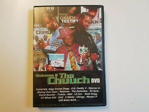 WELCOME 2 THA CHUUCH DVD 2005 (Snoop Dogg Warren G RBX Redman DJ Quik Nate) NEW
