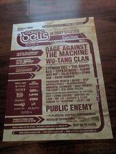 Rock the Bells Festival 2007 Poster