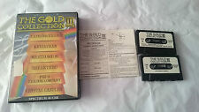 THE GOLD COLLECTION III 3, 6 JUEGOS SPECTRUM SINCLAIR ZX 48K 128K PAL