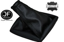 BLACK STITCH FITS VAUXHALL OPEL MERIVA A 2002-2010 GEAR COVER GAITER LEATHER