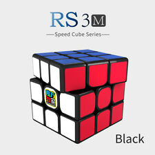 RS3M MF3 Moyu Magnetic 3x3 Magic Cube Twisty Puzzle for Toys Black