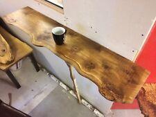 Waney Edge oak floating shelf, Chunky Mantle Piece,rustic,live Edge,bespoke