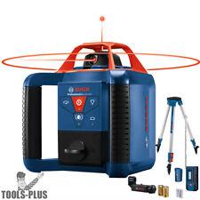 Bosch Grl1000-20Hvk Self-Leveling Rotary Laser Kit 1000'