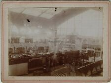 Galerie des machines Exposition universelle Paris 1900 France Photo n1 Vintage