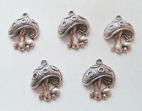 Moustache Charm//Pendant Tibetan Steampunk Antique Bronze 56mm  4 Charms Crafts