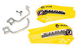 Yellow ATV Hand Guards Honda Yamaha Suzuki Kawasaki Arctic Cat