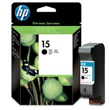 ORIGINAL & BOXED HP15 / C6615D BLACK INK CARTRIDGE - SWIFTLY POSTED!