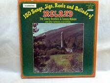 150 Songs, Jigs, Reels and Ballads Of Ireland-5 Cassette Box Set           lp294