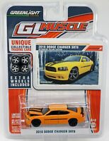 GreenLight 2010 Dodge Charger SRT8 GL Muscle Series #13030 New NRFP Yellow 1:64