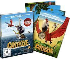 ROBINSON CRUSOE (Blu-ray 3D + Schuber mit Lenticularcover + 4 Postkarten) NEU