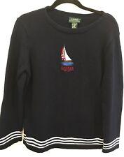 Vintage Ralph Lauren Knitted Mens Sweater Size Medium Large