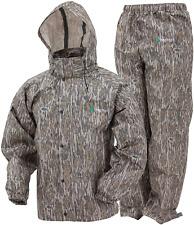 Camo Rain Gear Waterproof Jacket Pants Water Resistant Hunting Hiking x-Large