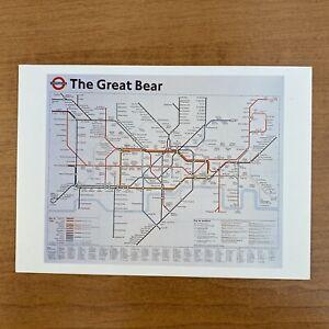 The Turner Prize 1996 Postcard Simon Patterson, Great Bear
