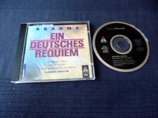 CD BRAHMS Ein Deutsches Requiem PREVIN Price Ramey Royal Philharmonics TELDEC