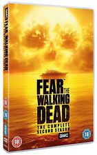 FEAR THE WALKING DEAD: Season 2 DVD Boxset UK Region 2 * Brand New & Sealed