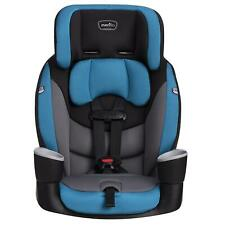 Baby Booster Car Seat Toddler Sport Harness High Back Safety Travel Chair Blue