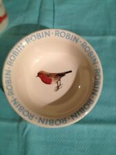 "EMMA BRIDGEWATER, ""ORIGINAL ROBIN"" design, cereal bowl, 25th anniversary run, BN"