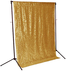 Sequin Fabric Photography Backdrop Sparkly Shimmer Curtain Party Decorations New