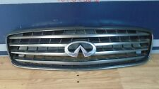 2002 2003 2004 Infiniti Q45 Grill Grille With Emblem Factory OEM 02-05