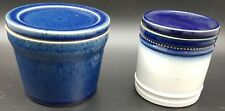 Vintage Stoneware Canisters By Denby & Pearson. Storage Jars / Canisters