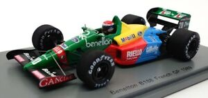 Spark 1/43 Scale S5206 - 1989 Benetton B188 #20 Emanuele Pirro French GP