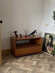 G PLAN Fresco Teak Tv Media Unit Cabinet-Mid century-Vintage Retro