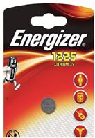 1 x Energizer 1225 BR1225 3V Lithium Battery CR1225