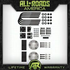 """Fits 05-11 Dodge Dakota 4WD Billet 3"""" Fr + 2"""" Rr Lift Spacers Kit w/ Diff Drop"""