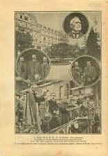 SDN Palais des Nations Société des Nations Genève Chamberlain 1925 ILLUSTRATION