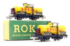 More details for rokal 'tt' gauge 214 pair of shell tank wagons (2f)
