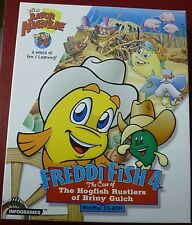 Video Game PC Freddi Fish 4 Case of The Hogfish Rustlers of Briny Gulch BIG BOX