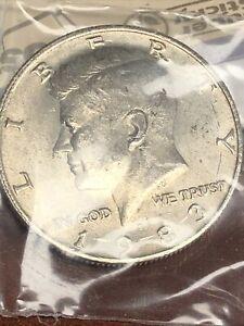1983-P Kennedy Half Dollar,  Circulated but NICE ! 100