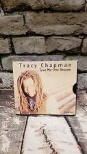 TRACY CHAPMAN - Give Me One Reason / Rape Of World - CD - Single