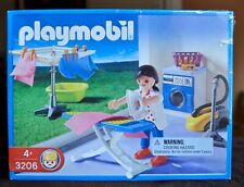 Playmobil 3206 Laundry Room Set for Modern House - New in Sealed Box