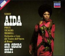 Verdi: Aida (CD, Aug-1987, 3 Discs, London)