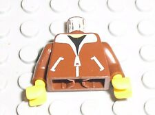 Buste Personnage LEGO Minifig OldBrown Torso 973p70 / 6597 4556 6561 4561 6543..